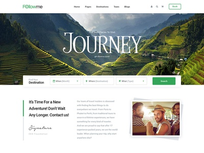 FollowMe – Booking tours and travel project - Coming soon...