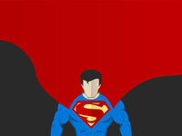 Superman Vector Art