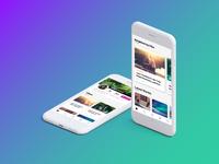 Vibe App User Interface Design
