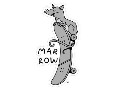 Marrow Skate Rat