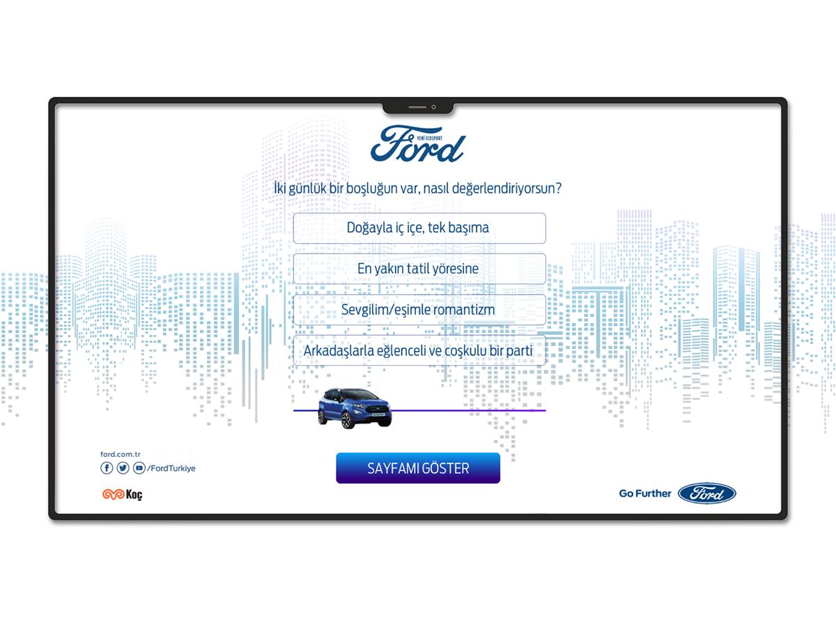 Ford Micropage Design design web ux ui