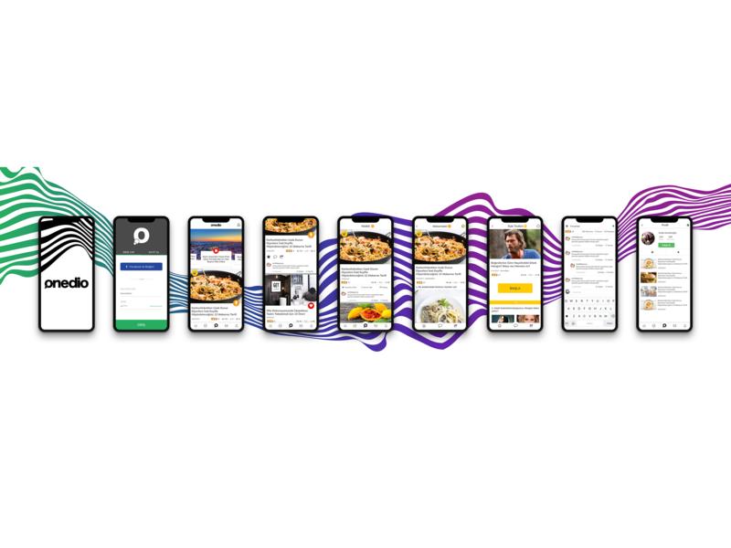 Onedio Mobile App Design app design ux ui