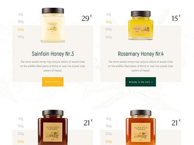 Shop exploration andorra bottle cart buy ui e-comerce shop honey