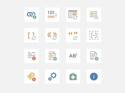 WORD ribbon custom icons flat app ui icon ribbon word