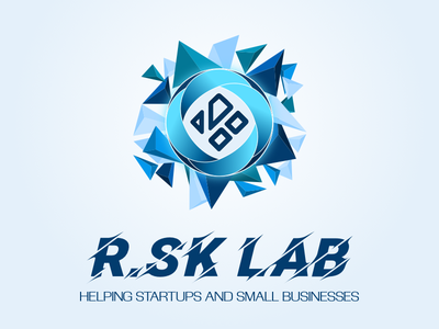 R.SK Lab Logo mark design identity branding logo