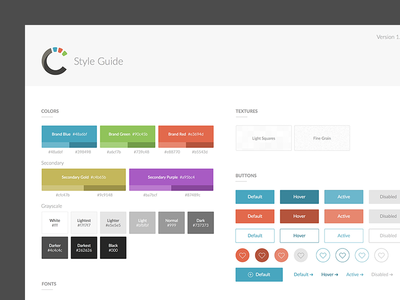 Style Guide Template brand guide style guide typography guidelines brand colors buttons sketch style template ui guide