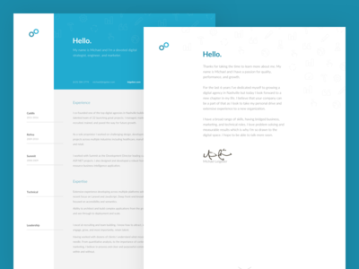 Personal Resume cover letter personal simple minimal cv resume