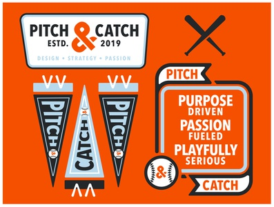 Pitch CatchCreative Badge Dribble 01
