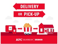 KFC Delivery or Pickup by GrubHub