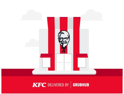 KFC Store Illustration
