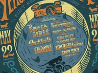 Converse Rubber Tracks Live Poster