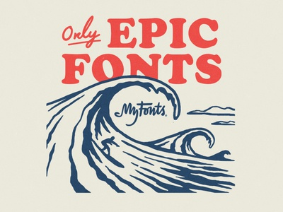 My Fonts Surf Ads