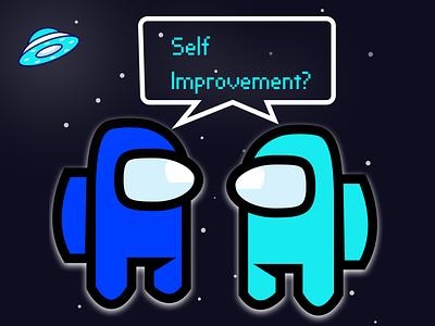Self Improvement illustration design
