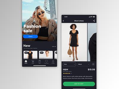 E-commerce App UI Design design ui design e-commerce app