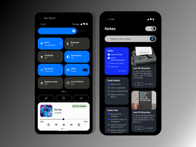 Android 12 typography mobile design android design ux ui
