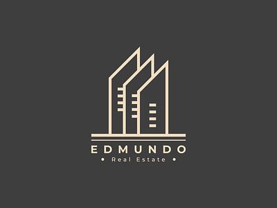 Edmundo real estate logo vintage logo vintage vector minimal logodesign logo illustrator illustration graphic design design