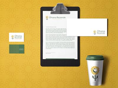 Projeto de identidade visual para profissional de psicoterapia art vector graphic design typography logo icon design branding