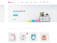 Designaat homepage
