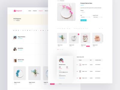 E-commerce Website Inner Pages
