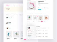 E-commerce Website Inner Pages
