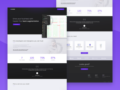 10Clouds - Landing Page