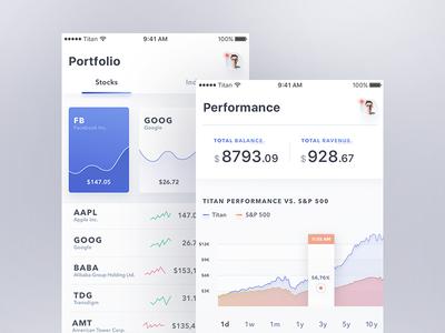 Titan Mobile App