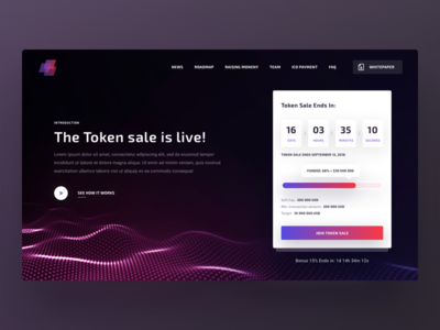 ICO Page