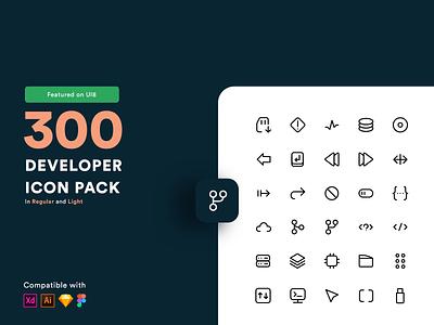 Developer Life Icon Pack programmer computer github git download icon ui8 sale iconpack coder developer download icondesign icon vector logo branding ui dribbble nepal