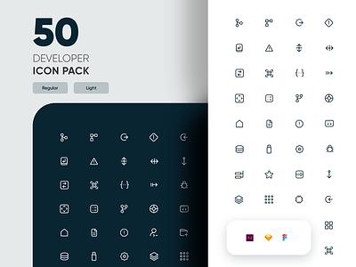 Free Developer Life Icon Pack icons pack github git app ux vector design ui minimal nepal icons set iconset icon set icon design iconography icons icon