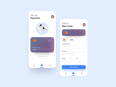 Banking App Concept wallet payment money creditcard minimal nepal banking app banking ecommerce bank