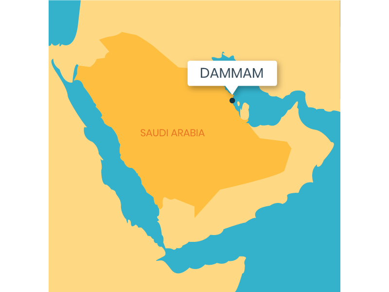 Saudi Arabia Map by Aakash Raj Dahal on Dribbble on