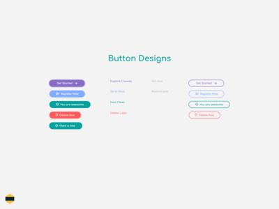Button Designs - Digital Quiz Platform