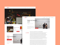 Artee Nepal - Landing Page
