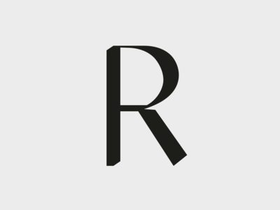 R illustration logo greece r identity angelosbotsis letter visuals athens logotype branding typography minimal design