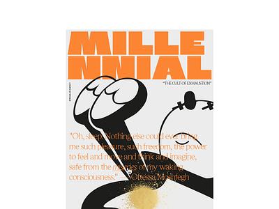Millennial athens typography letter greece art concept millennial artdirection angelosbotsis type character felix poster contemporary modern visuals design