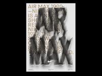 Airmax airmax art minimal stripes greece athens regularagency angelosbotsis posterdesign digital type poster nike customtype typograpghy