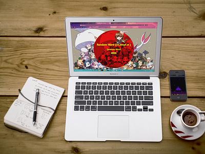 Random! front end design randomize anime cute entertainment fun business website generator css html codeigniter web designer php webdesign web software app random
