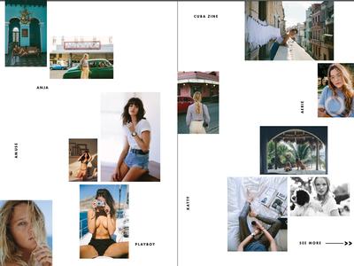 Lookbook for editorial photog