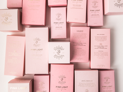 Branding + Box Design for a Bay Area Skin Care line