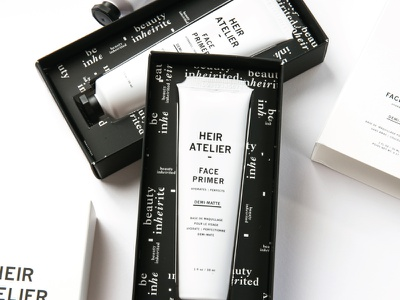 Box Sleeves product design monochromatic packaging