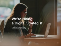 We're Hiring a Digital Strategist
