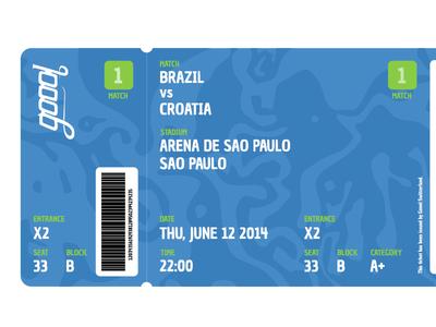 Goool Ticket (Brazil Version)