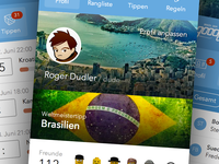 Goool Mobile Web App