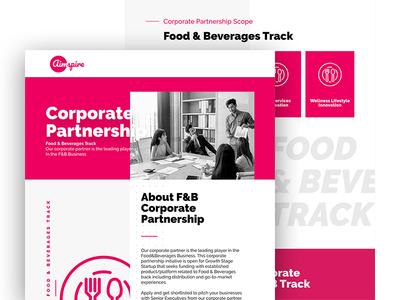 Aimspire Corporate Partnership Landingpage