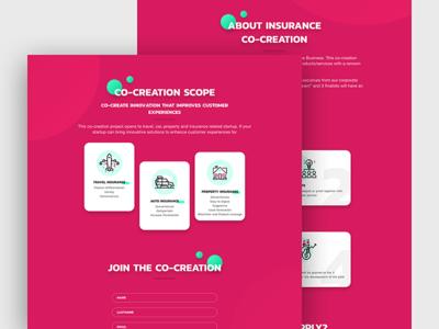 Innovate Partner Landingpage