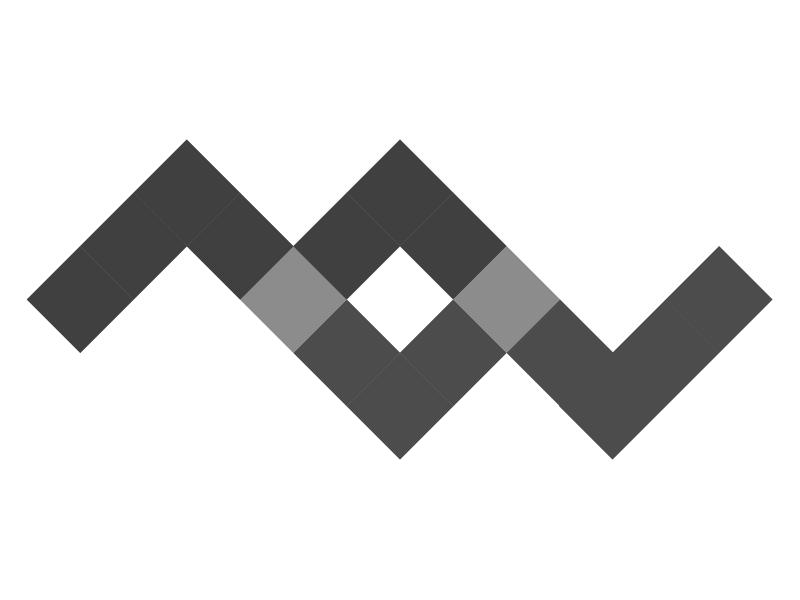 MW - Monogram 2 logo monogram illustrator portfolio branding