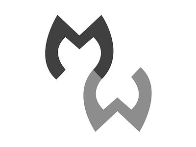 MW - Monogram 3 logo monogram illustrator portfolio branding