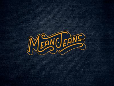 Mean Jeans Logo Design