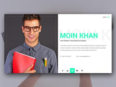 Material Design Vcard
