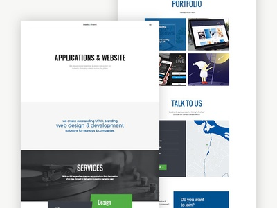 Software Agency Template